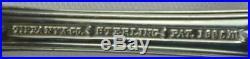(128pc)Tiffany & Co English King Pattern Sterling Flatware Set No mono Old Marks