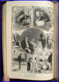 1879 VICTORIAN Household Guide ETIQUETTE Cook Book PENMANSHIP Love ROMANCE Women
