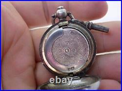 1903 E J Trevitt Antique English Chester Silver Sovereign Case. (ncb)
