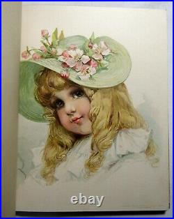 Antique 1896 CHILDREN OF TO-DAY (Today) Illustrated COLOR PLATES France Brundage