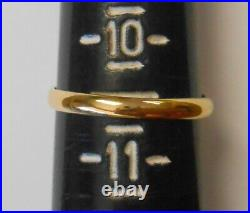 Antique 18K Yellow Gold Victorian Signet Ring Size 10.5 English Hallmark SUL