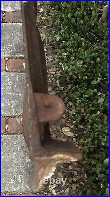 Antique English Victorian Era Cast iron ornate fireplace cover insert c. 1875