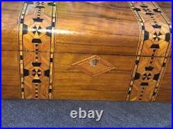Antique English Victorian inlaid box