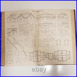 Antique Modern Building & Architecture Book 1870 Victorian Collect Building