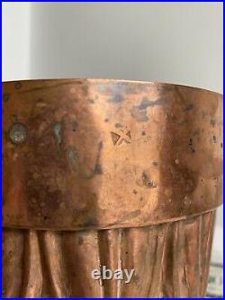 Antique Victorian Benham & Froud English Copper Jelly / Cake Mold #232