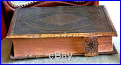 Antique Victorian British Very Large Holy Bible The Royal Family Bible Rare
