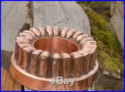 Antique Victorian English Copper Jelly Cake Mold mould Benham & Froud