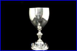 Antique Victorian English Sterling Cup Goblet A74351