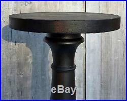 Antique Victorian Mahogany 35H Baluster Form Pedestal Plant Stand c. 1880