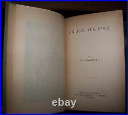 Ballantyne, R. MERLING THE BOLD/VIKING NORSE LEGENDS Antique Victorian Binding