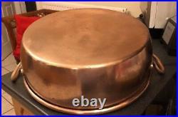 Benham & Froud English Copper Victorian Kitchen Preserves Pan