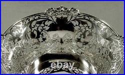 English Sterling Center Bowl 1915 RARE MAKER