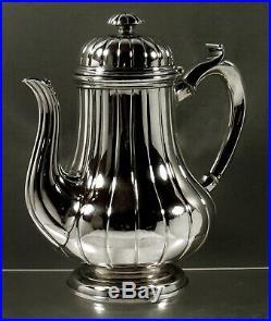 English Sterling Coffee Pot 1867 Garrard Royal Silversmiths