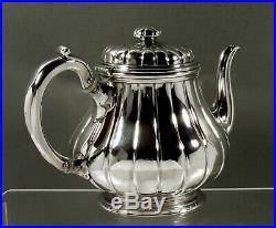 English Sterling Tea Set 1853 Royal Silversmiths