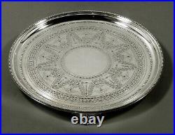 English Sterling Tray 1876 MARTIN & HALL
