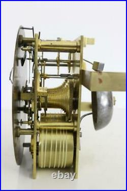 FINE ENGLISH BRACKET CLOCK 5 pillar twin fusee MOVEMENT by CONNELL late GANTHONY