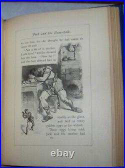 GOLDEN BOOK OF TALES /FAIRY TALES/ALADDIN/MYTHS Antique Victorian Fine Binding