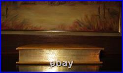 HOMER'S ILIAD/TROJAN WAR/GREEK EPIC/TROY Rare Antique Victorian Fine Binding
