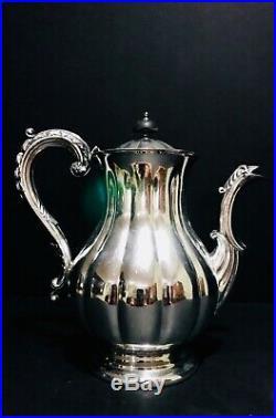 Marlboro Plate Old English Reproduction Silver on Copper 6 Piece Tea Service