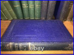 OLD Non Leather Antique Victorian Books 1800s 22 Volumes Some Wear For Decoratio