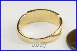 PRETTY ANTIQUE VICTORIAN ENGLISH 18K GOLD CORAL PEARL & DIAMOND RING c1882