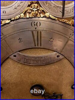 Rare Antique 19th Century English Bracket Clock made for Duhme & Co. Cincinnati