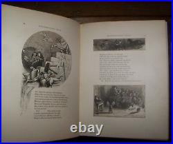 Shakespeare, William A MIDSUMMER NIGHT'S DREAM Antique Victorian Fine Binding