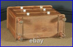Small Antique English Victorian Pine Chest of Drawers (Circa 1860)