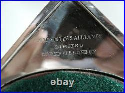 Victorian Candlesticks Antique Neoclassical Pair English Sterling Silver
