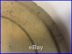 Victorian English BROOKES BREAD Advertising Wood Round Bread BoardPR474