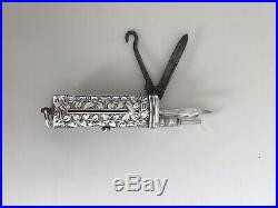 Victorian English Silver Etui 1893
