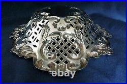 Victorian English Sterling Silver Dish by Mathew Jessop of Hatton Garden London